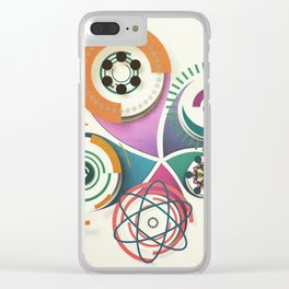 Suburbia No 4 Clear iPhone Case