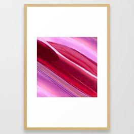 New York City - Red Framed Art Print