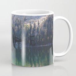 Never Ever Stop Wandering Compass Coffee Mug