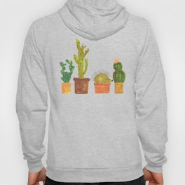 Hedgehog and Cactus (incognito) Hoody