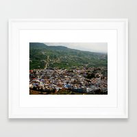 morocco Framed Art Prints featuring morocco by Lauren
