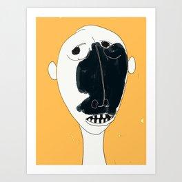 numéro 01 Art Print