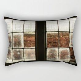 Pane In The Glass Rectangular Pillow