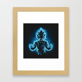 Goku Framed Art Print