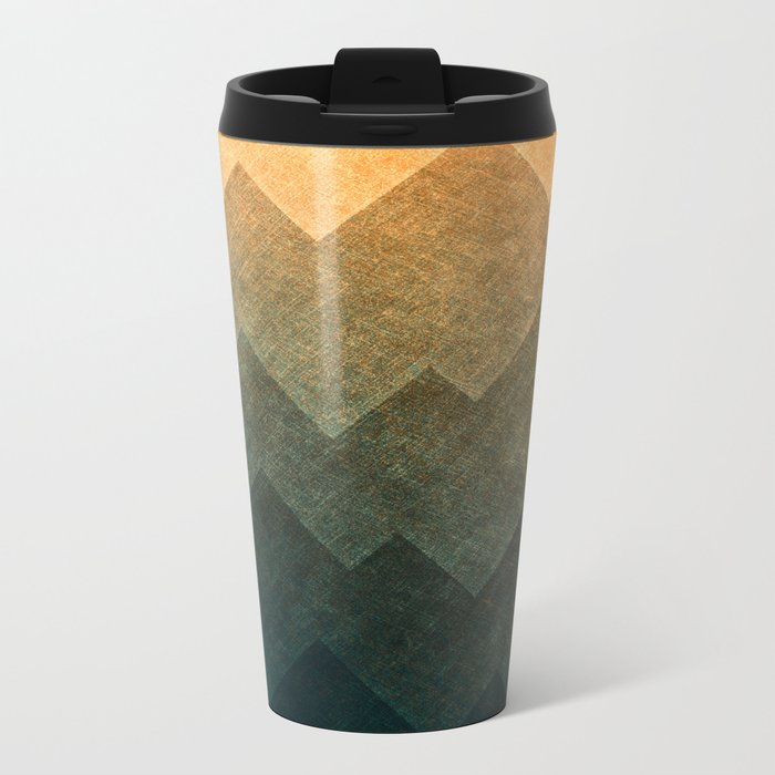 HillsHillsHills #3 Metal Travel Mug