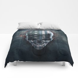 American Horror in Metal Comforters