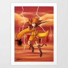 Jupiter Princess Art Print