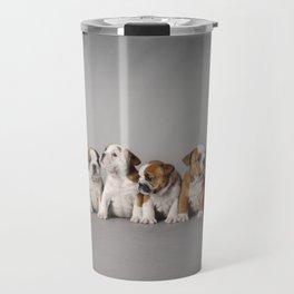 English bulldog puppies Travel Mug