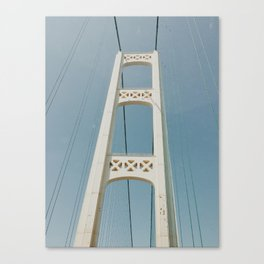 Mackinaw Bridge Canvas Print