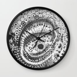 Eye of the Storm Wall Clock