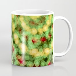 Holiday Spiral Bokeh Coffee Mug