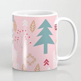 Cute Christmas in pink Coffee Mug