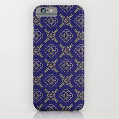 Royal [abstract pattern B] Slim Case iPhone 6s