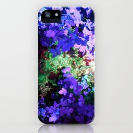 Iris Julep iPhone Case