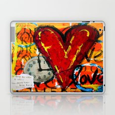 Time for Love Laptop & iPad Skin