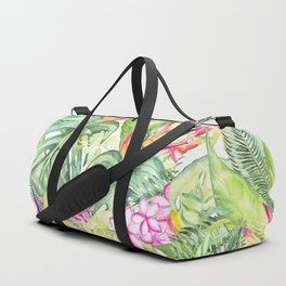Tropical Garden 1A #society6 Duffle Bag