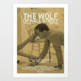 The Wolf Of Wall Street - Five Star series Art Print