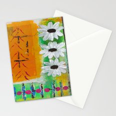 Daisy Days of Summer Stationery Cards