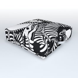 Lonely Hydra Outdoor Floor Cushion
