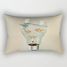ideas and goldfish 03 Rectangular Pillow