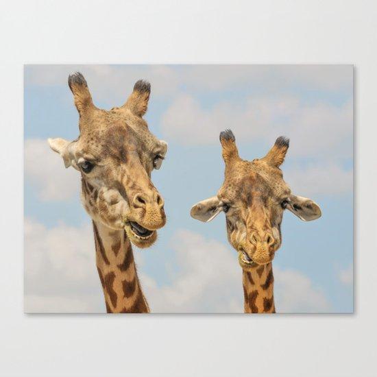 Giraffe Joe Canvas Print