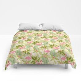 Flamingo Paradiso Comforters