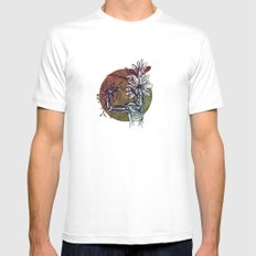 Bouquet de Nerfs Mens Fitted Tee White SMALL