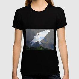 Saint Under The Clouded Sky T-shirt