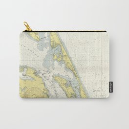 Vintage Map of The Outer Banks (1942) Carry-All Pouch