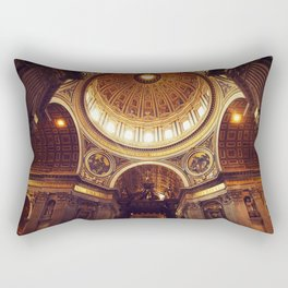 Saint Peter's Basilica  Rectangular Pillow