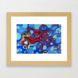 The Enigma of a Full Belly Framed Art Print