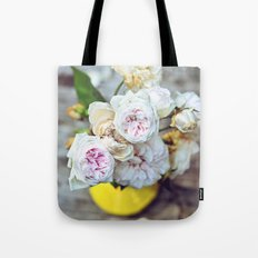 The Last Days of Spring - Old Roses I Tote Bag