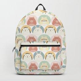 Round animal Backpack
