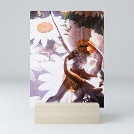 Angels / Flowers Mini Art Print