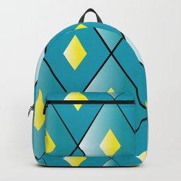 Turqoise pattern Backpack