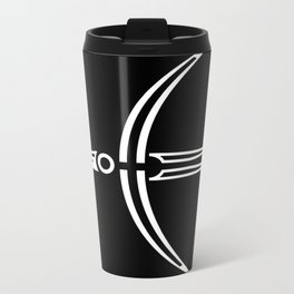 Moon Raven Metal Travel Mug
