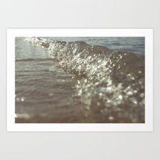 Big Splash 01 Art Print