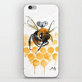 Clockwork Bee III iPhone Skin