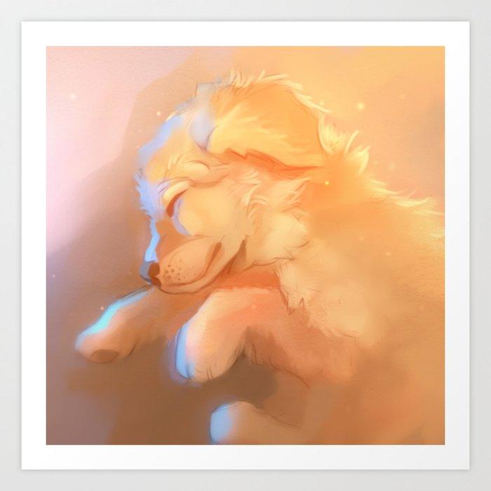 Golden Dreams Art Print
