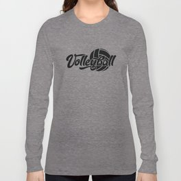 Volleyball Gift Long Sleeve T-shirt