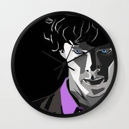 Sherlock Holmes Portrait Wall Clock