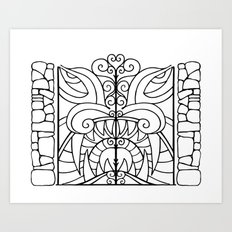 Threshold Guardian Art Print