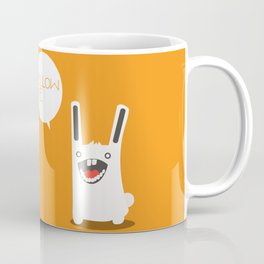 Follow The White Rabbit Coffee Mug
