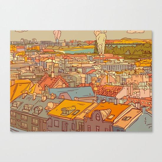 Budapest digital 1. Canvas Print