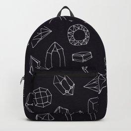 doodle crystals Backpack