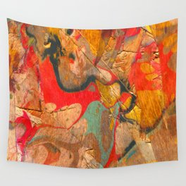 Abstract Painting ; Dragon Wall Tapestry