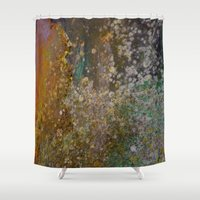 rustic Shower Curtains featuring Rustic by Herzensdinge