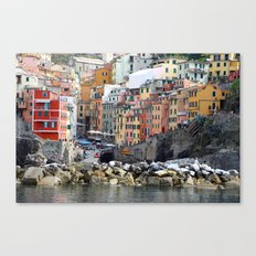 All About Italy. Piece 8 - Riomaggiore Canvas Print