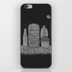 Fast Food City iPhone Skin