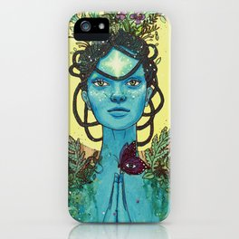 Meditation on Mother Nature iPhone Case